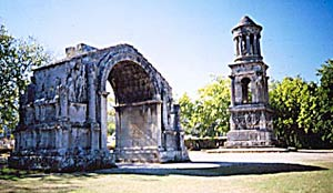Arch of Sextus at Glanum